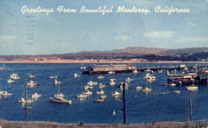 Greetings From Monterey - California CA Postcard