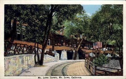 Mt. Lowe Tavern - California CA Postcard