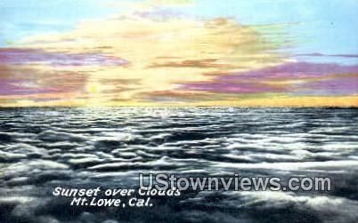 Mt. Lowe - California CA Postcard