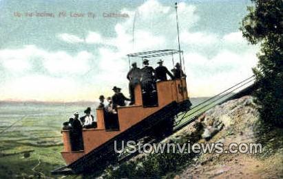 Incline - Mt. Lowe, California CA Postcard