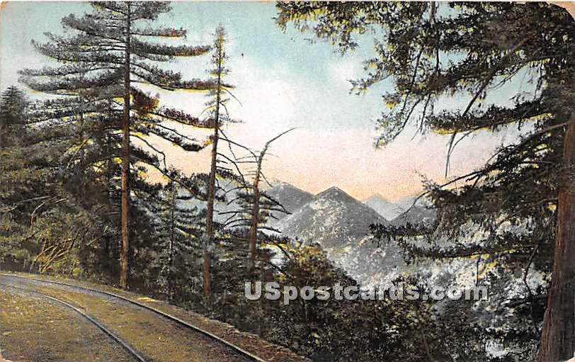Mt. Lowe, California CA Postcard