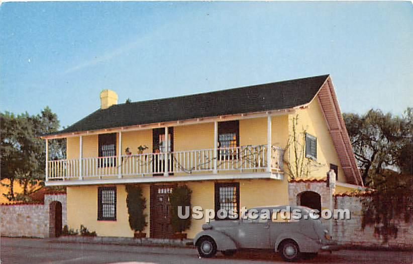 Old Whaling Station - Monterey, California CA Postcard