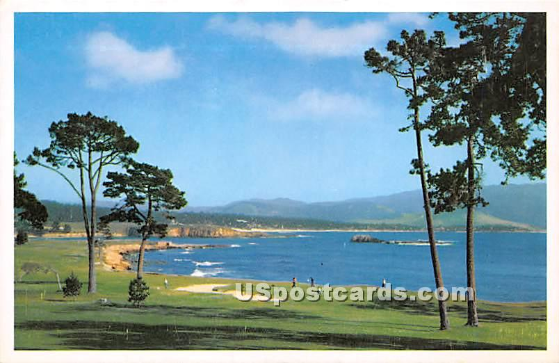 Pebble Beach Golf Course - Monterey Peninsula, California CA Postcard