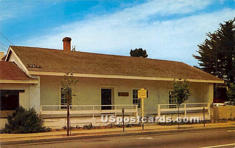 Casa Serrano - Monterey, California CA Postcard