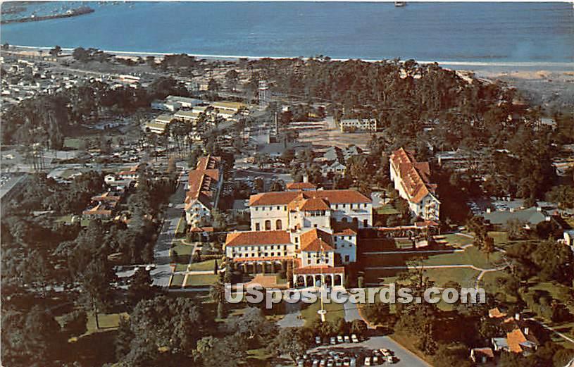 US Naval Post Graduate School - Monterey, California CA Postcard
