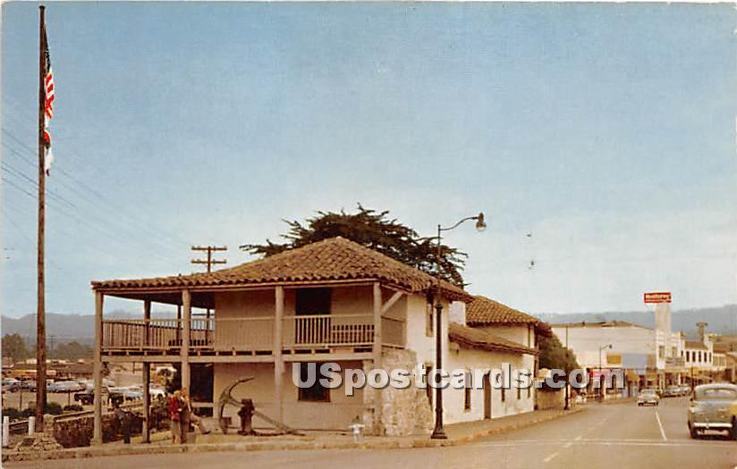 Old Custom House - Monterey, California CA Postcard