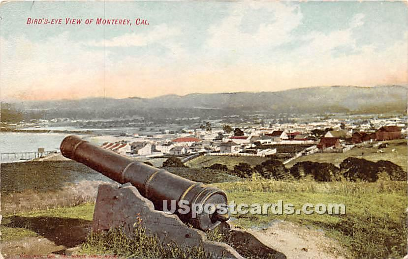 Monterey, California CA Postcard