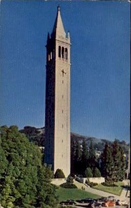 Campanile, University of California - MIsc Postcard