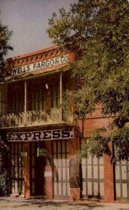 Wells Fargo Building - MIsc, California CA Postcard