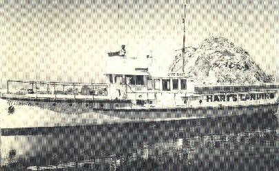 Harts Landing - MIsc, California CA Postcard