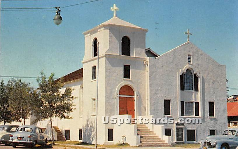 Methodist Church - Needles, California CA Postcard