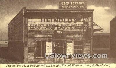 Original Bar, JM Heinold - Oakland, California CA Postcard