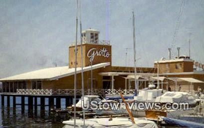 Grotto, Jack London Square - Oakland, California CA Postcard