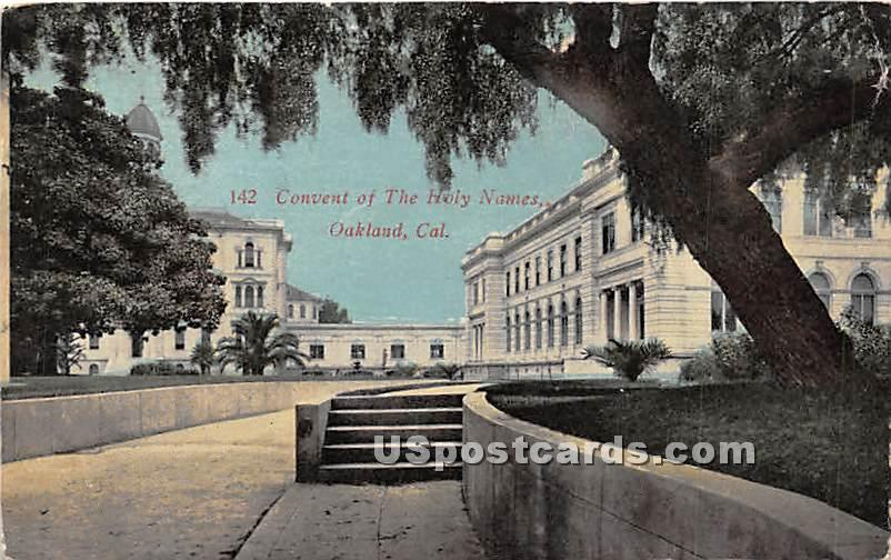 Convent of the Holy Names - Oakland, California CA Postcard