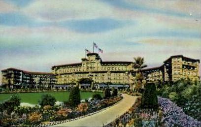 The Huntington-Sheraton - Pasadena, California CA Postcard