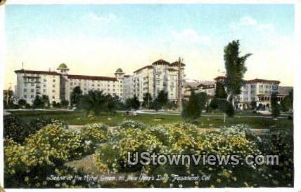 Hotel Green - Pasadena, California CA Postcard