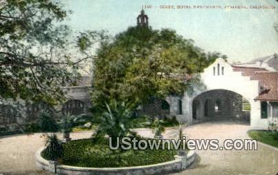 Hotel Wentworth - Pasadena, California CA Postcard