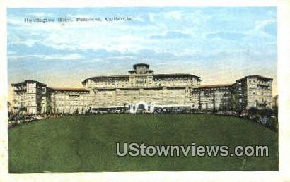Huntington Hotel - Pasadena, California CA Postcard