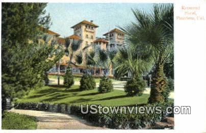 Raymond Hotel - Pasadena, California CA Postcard