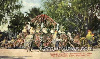 Tournament of Roses - Pasadena, California CA Postcard