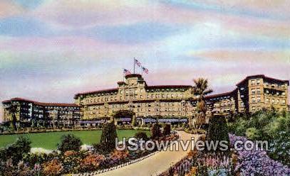 Huntington Sheraton Hotel - Pasadena, California CA Postcard