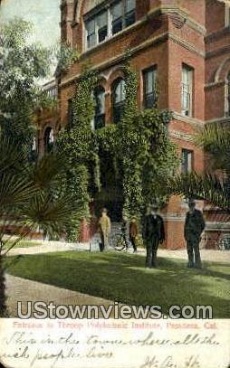 Throop Polytechnic Institute - Pasadena, California CA Postcard