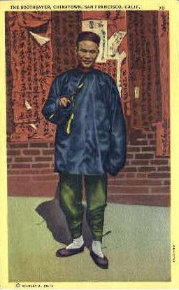 The Soothsayer, Chinatown - San Francisco, California CA Postcard