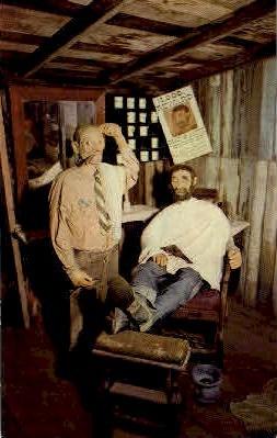 The Barber Shop - Buena Park, California CA Postcard