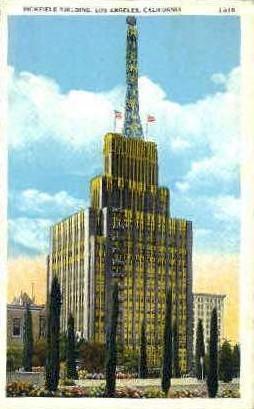 Richfield Building - Los Angeles, California CA Postcard