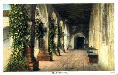 Mission San Juan Capistrano - San Francisco, California CA Postcard