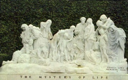 Forest Lawn Memorial-Park - Glendale, California CA Postcard