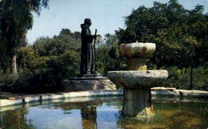 San Fernando Mission - Los Angeles, California CA Postcard
