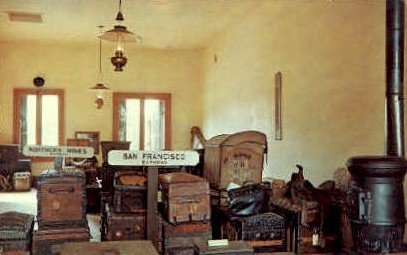 Wells Fargo Office - MIsc, California CA Postcard