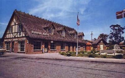 Birkholms Danish Bakery - Solvang, California CA Postcard