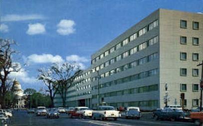 State Employment Building - Sacramento, California CA Postcard