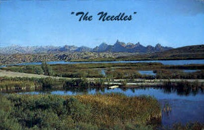 The Needles - California CA Postcard