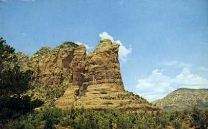 Coffee Pot, Oak Creek Canyon - MIsc, California CA Postcard