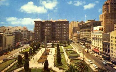 St. Francis Hotel - San Francisco, California CA Postcard