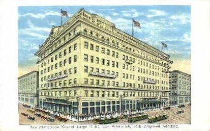 The Whitcomb - San Francisco, California CA Postcard