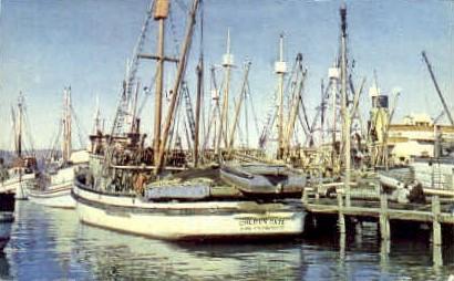 Fishermans Wharf - San Francisco, California CA Postcard