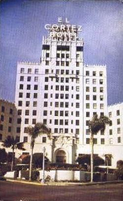 El Cortez Hotel   - San Diego, California CA Postcard
