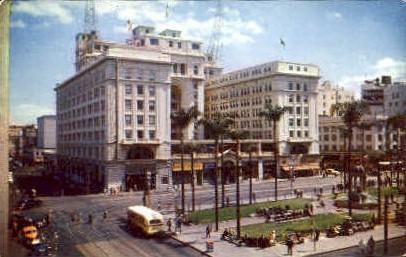 U.S. Grant Hotel & Plaza - San Diego, California CA Postcard
