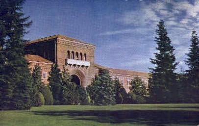 Sacramento College - California CA Postcard