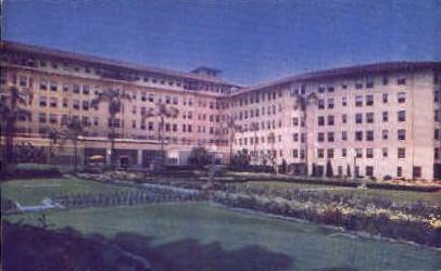 East Gardens, Ambassador Hotel - Los Angeles, California CA Postcard