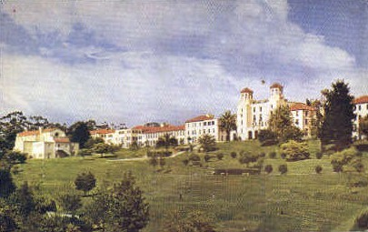 The United States Naval Hospital - San Diego, California CA Postcard
