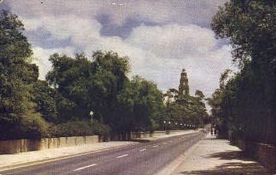 Laurel Street Entrance  - San Diego, California CA Postcard