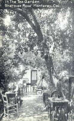 In the Tea Garden  - Monterey, California CA Postcard
