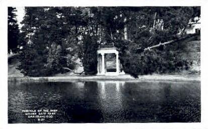 Portals of the Past, Golden Gate Park - San Francisco, California CA Postcard