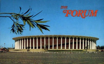 The Forum  - Los Angeles, California CA Postcard