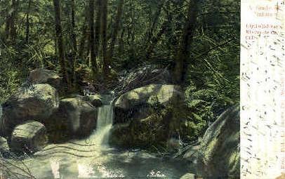 Idyllwild Falls - Riverside, California CA Postcard